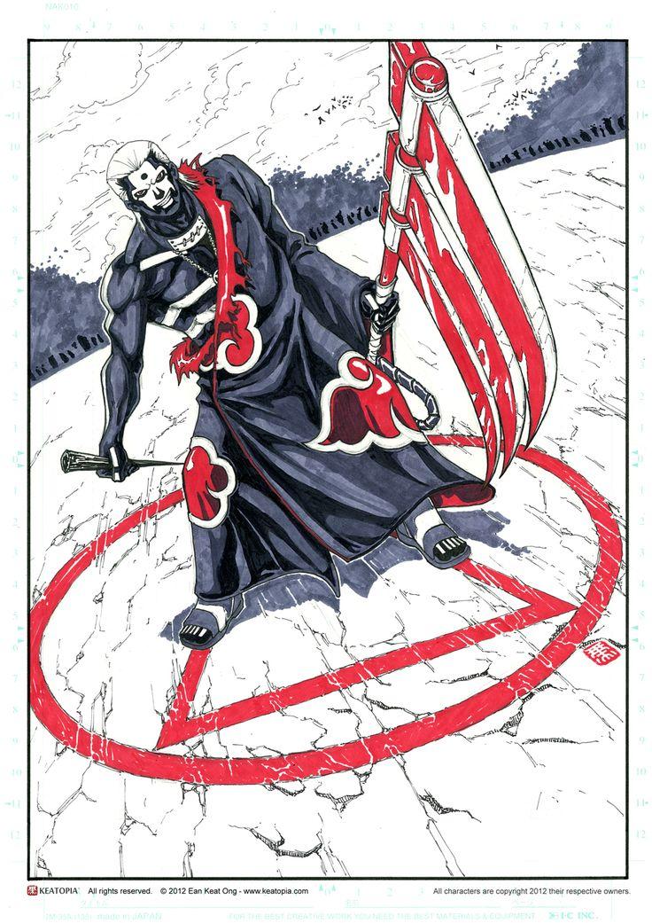 Naruto Akatsuki Hidan by Keatopia.deviantart.com on @deviantART