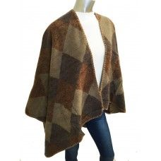 Fine & Dandy Brown Poncho