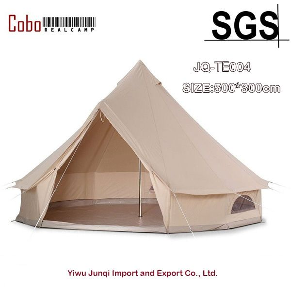 649.98$  Buy here - http://ali12g.shopchina.info/1/go.php?t=32804292942 - 5M/16.4ft Diameter Canvas Bell Tent Famliy Camping and Party Khaki Bell Tent  #buymethat