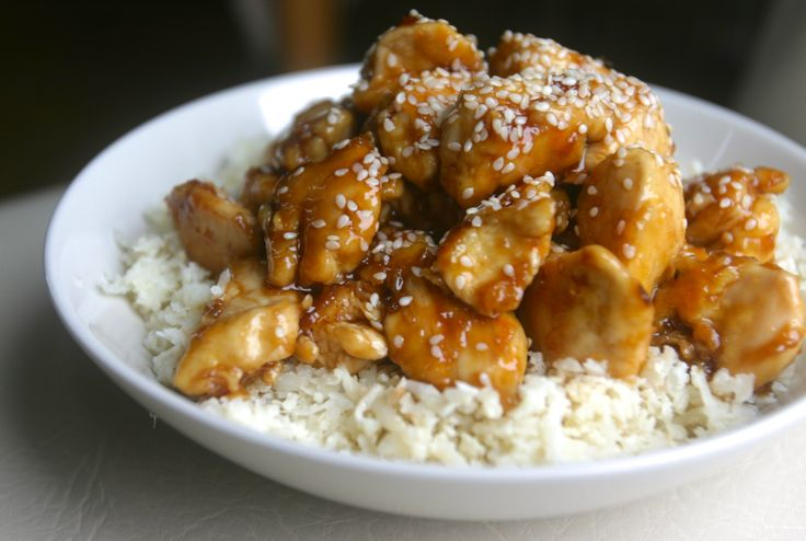 paleo sesame honey chicken