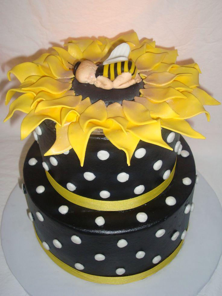 sunflower baby showers sunflower cakes baby cakes baby shower cakes