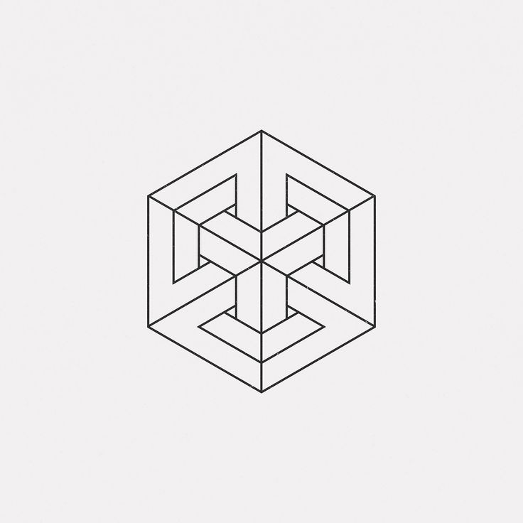 "dailyminimal: "" #AP17-905 A new geometric design every day """