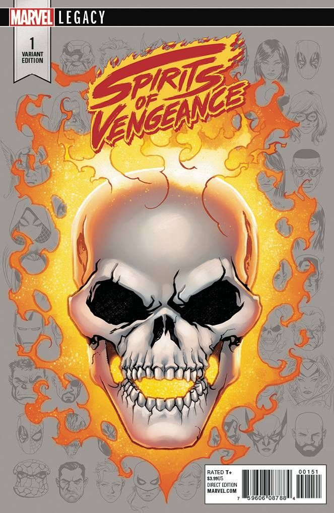 Spirits of Vengeance #1 Variant