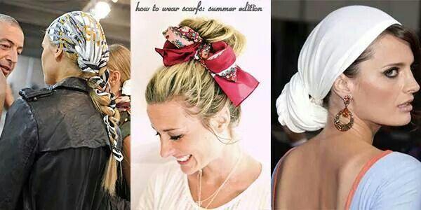 Лето - отличный повод украсить свою голову ярким платком! Как носить платки на голове и вообще читайте в нашем Блоге  http://bit.ly/1oTB34e