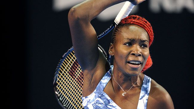 """Top Seed Venus Williams on advancing to the QFs of the Coupe Banque Nationale: """"Everything worked so well today,"""" ... """"When my first serve is going in that helps a lot. I was able to play so offensively off the first serve. Even though I lost serve a couple of times, it wasn't really from the serve, it was from the groundstrokes. It feels good to play like this going into the quarters."""""""