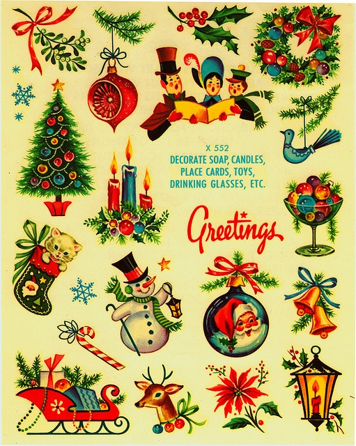 love the old time christmas stuff