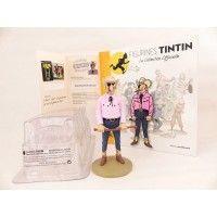 Figurine collection officielle Tintin n°45 Rastapopoulos à la cravache