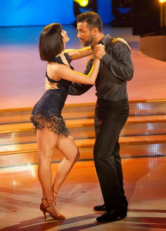 Fabio Quagliarella appears on Italy's 'Dancing With the Stars'