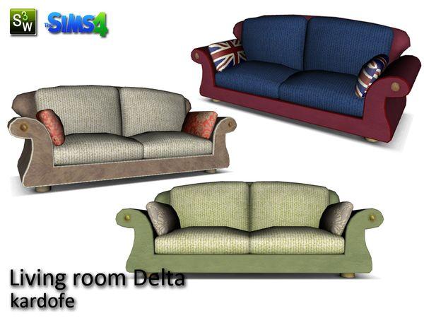 kardofe_Living room Delta_Loveseat