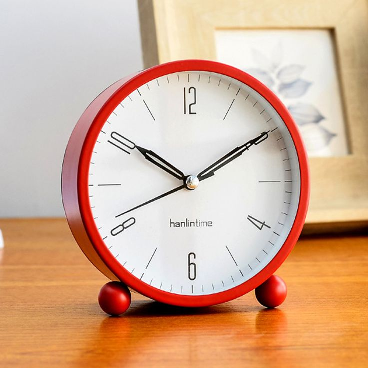 Get Best Price Red Metal Case Light Alarm Clocks Light Alarm Round Desk Clocks Function Alarm Light On/Off At Night Living Room #Metal #Case #Light #Alarm #Clocks #Round #Desk #Function #On/Off #Night #Living #Room