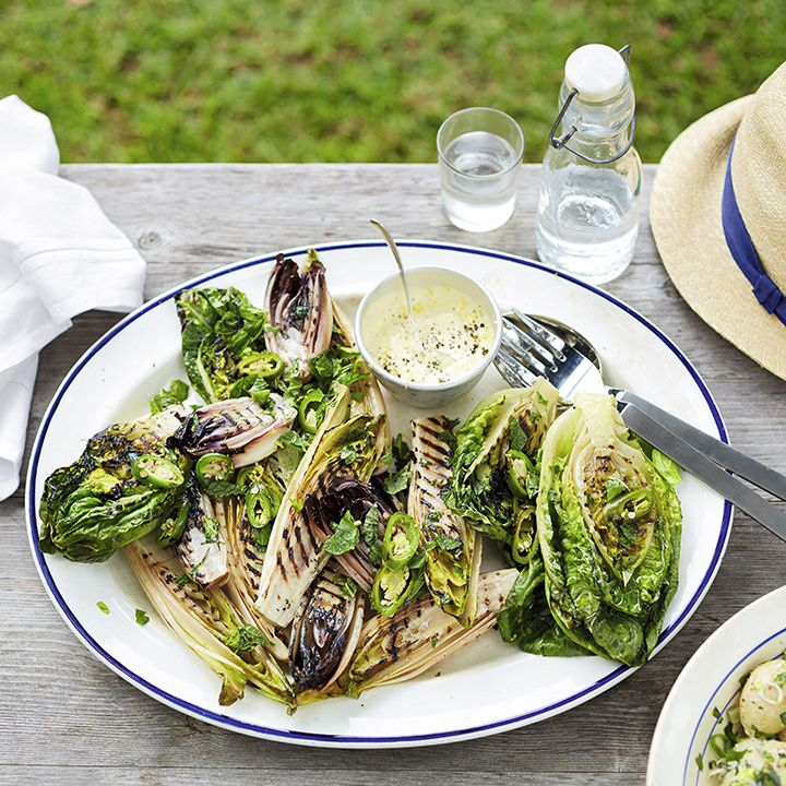 We love this chargrilled chicory and little gem salad. Find the recipe here: http://www.waitrose.com/content/waitrose/en/home/recipes/recipe_directory/c/chargrilled-chicoryandlittlegemsalad.html