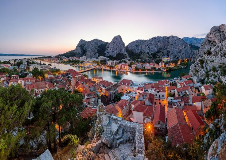 Omis and Cetina River Gorge, Croatia (by Andrey Omelyanchuk)