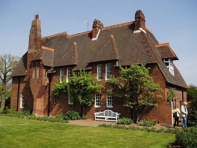 William Morris and Philip Webb, Red House, Bexley, UK