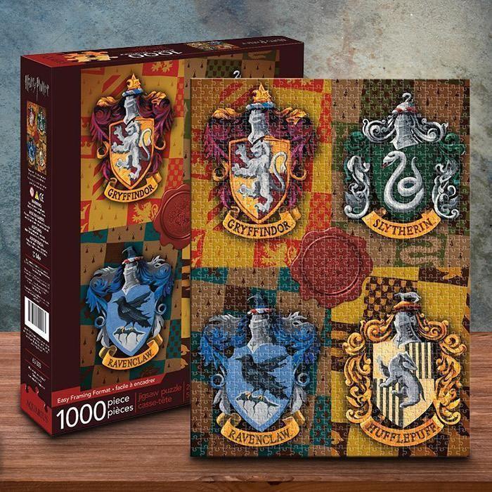 Jigsaw puzzle Entertainment Harry Potter Hogwarts Expecto Patronum 1000 piec NEW