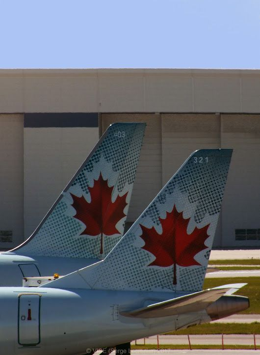 'Two Maple Leaves'    More photos on www.vise.pictures    #canada #mapleleafs #mapleleaves #red #aircrafts #airplane #tail #leaf #leafs #leaves #symbol #symbols #logo #logos #aircanada #orignalphotography #original #pictures #photography #photo