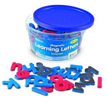 Magnetische letters - kleine letters