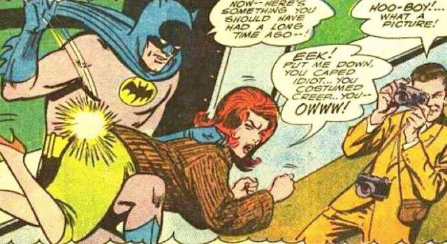 cru Tous les jours: Quand les femmes Fessée par les Super Héros Dans Les Premières BD