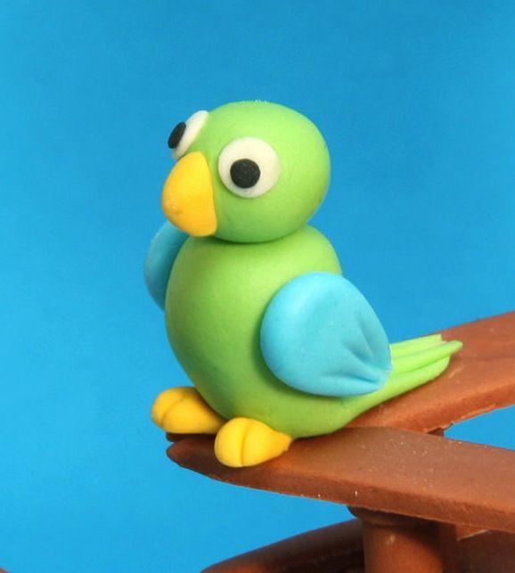 #parrotcaketopper #cute