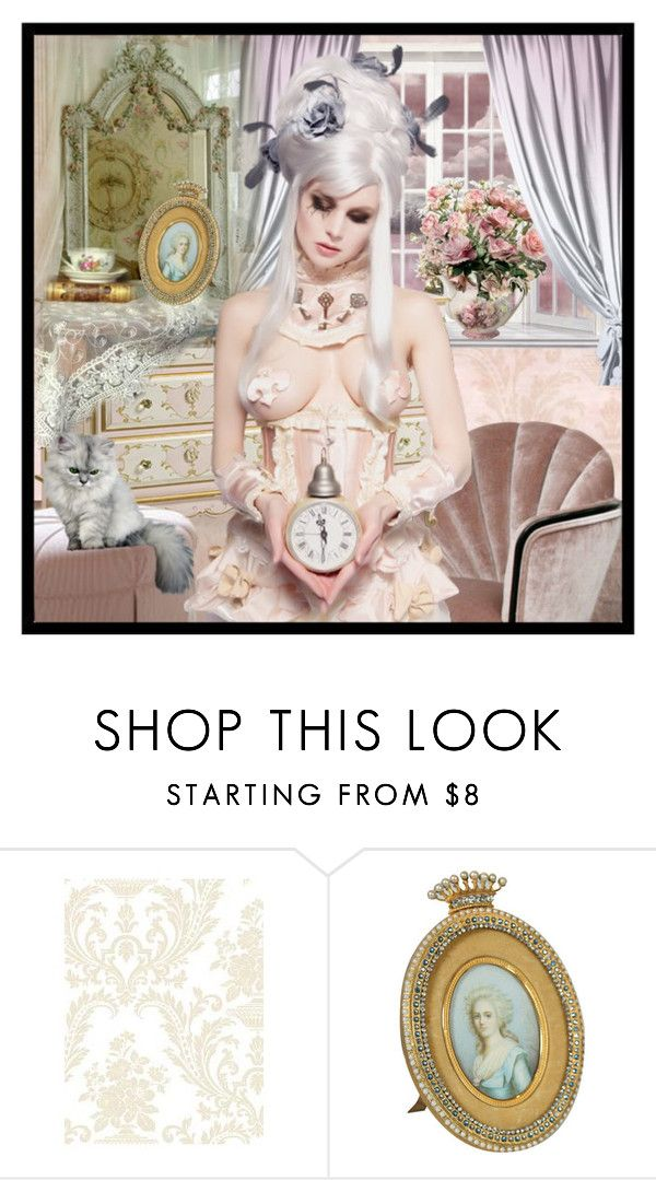 """Diva *Delphine*"" by fortheloveofvintage ❤ liked on Polyvore"