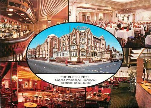 Postcard:- Blackpool, Cliffs Hotel | eBay
