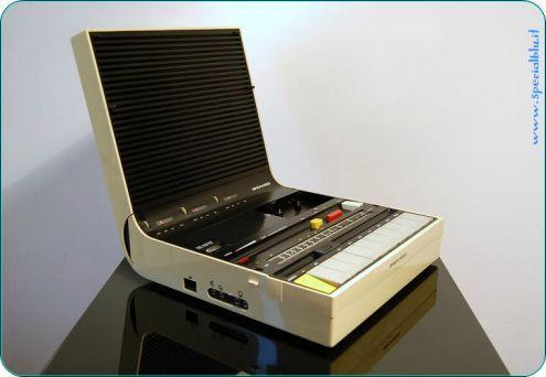 Brionvega SOUNDBOOK, Radio Registratore, Italy 1974, Zanuso / Sa