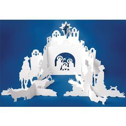 Paper Nativity Craft