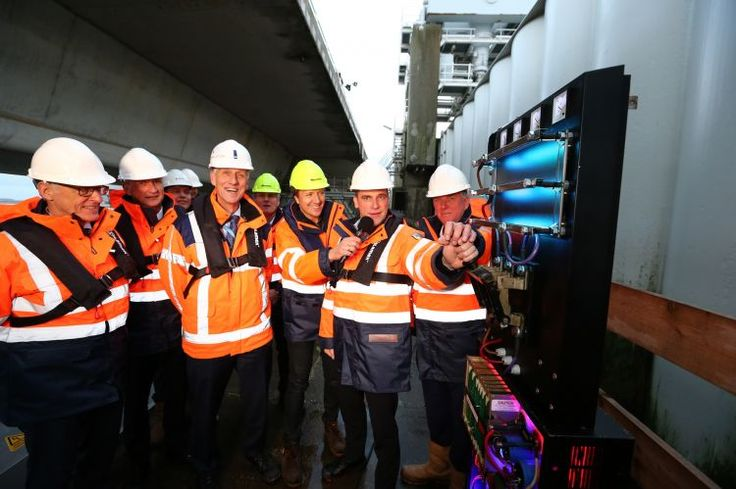 Tidal Power Plant in Deltaworks put into service