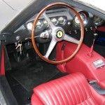 1962 ferrari 250 gto interior