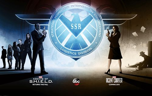 SHIELD/Agent Carter promo poster