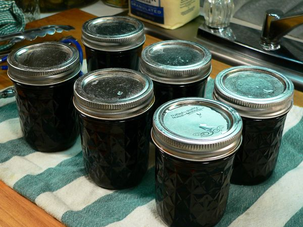 Blueberry Jam step by step.  No pectin