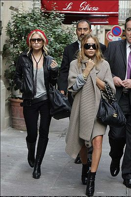 The Brunette Shake: Mary Kate and Ashley Olsen: Style Inspiration of the Week