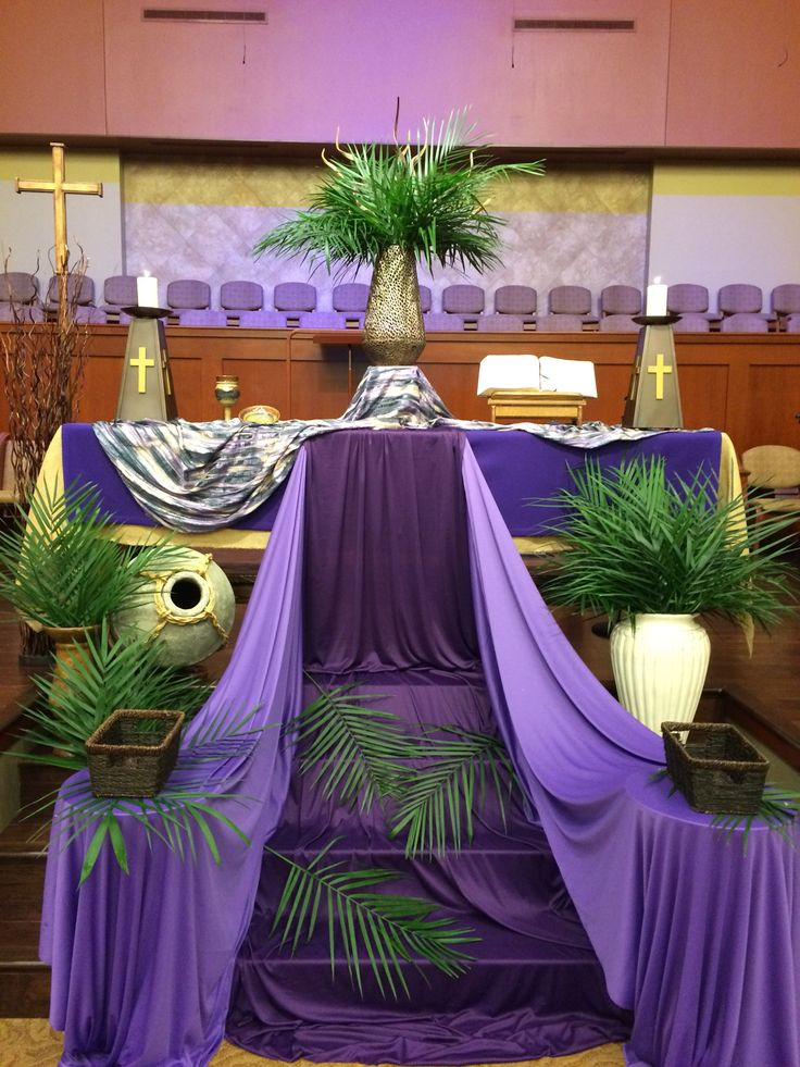 17 best images about church decor on pinterest altar for Altar wall decoration