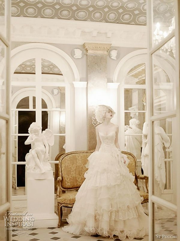 St. Pucchi 2012 couture bridal collection