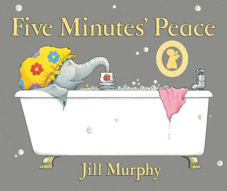 Five Minutes Peace by Jill Murphy on Cosmochicklitan