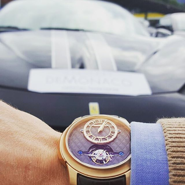 One month ago, Ateliers deMonaco has been the offical Timekeeper of the Top Cars Rally 2016. We are glad to remember this event with you and our stylish Tourbillon Oculus - 1297. (Link in bio) #dMC #Or #Rose #Tourbillon #Oculus #Luxury #Luxurylife #Gold #Monaco #Geneva #Exclusive #Billionaire #Lifestyle #Rich #Boys #USA #Rally #GPHG #Formule1 #Formula1 #Mens #Football #FrenchRiviera #Watch #Follow #NoblesseOblige #AteliersdeMonaco #Instawatch #Watchmaker