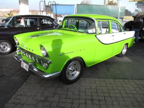 "Holden FB (1960 - 61) ""Special"" sedan. Non stock colours if you hadn't already guessed."