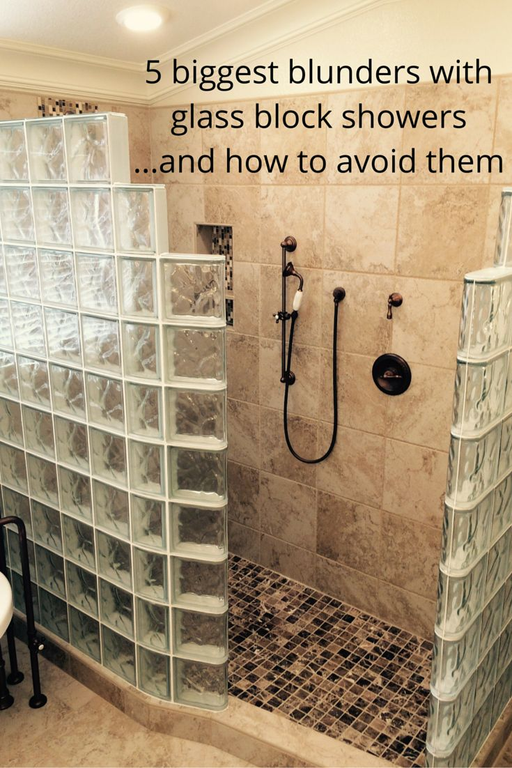 Do you think glass block showers and shower pans are difficult to figure out. The tips in this article will help you do a custom glass block shower correctly the first time!