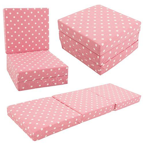 KIDS CHAIRBED - PINK SPOTS Kids Folding Chair Bed Futon G... https://www.amazon.co.uk/dp/B00OPUKA7Y/ref=cm_sw_r_pi_dp_x_-W66xbTBTR8F8