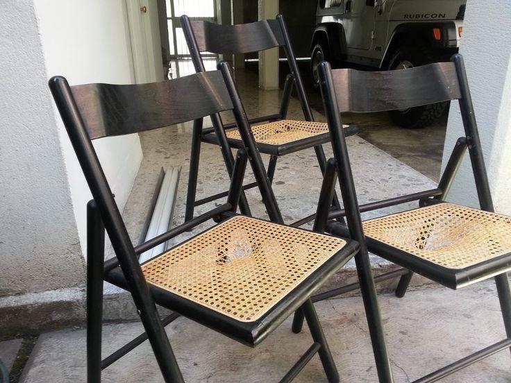 Las 25 mejores ideas sobre sillas de madera plegables en for Sillas para escritorio de madera