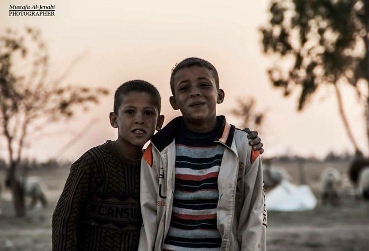 Happiness lies in simplicity Photographed by: Mustafa Al: Jenabi