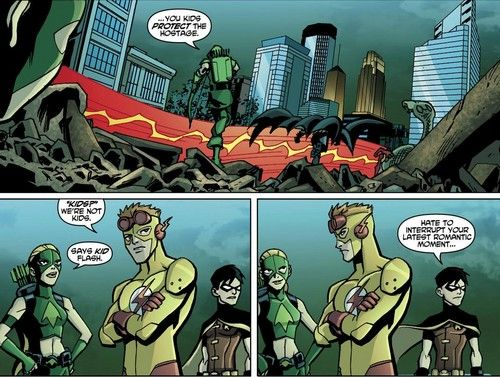 Young Justice Comic #17 - Kid Flash, Artemis, Robin