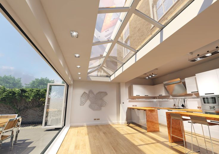 Innovative thinking and contemporary styling with #Skypod® skylights! #homeimprovement http://www.eurocell.co.uk/homeowners/574/skypod