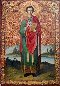 Ікона і житіє святого великомученика і цілителя Пантелеймона