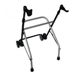 Cuando los miembros superiores del cuerpo ya no ayudan a elevar más de 3,8 kg. surge el andador con ruedas A6.