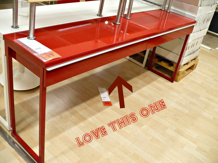 20 best desk images on Pinterest Glass tables Desk and Home office
