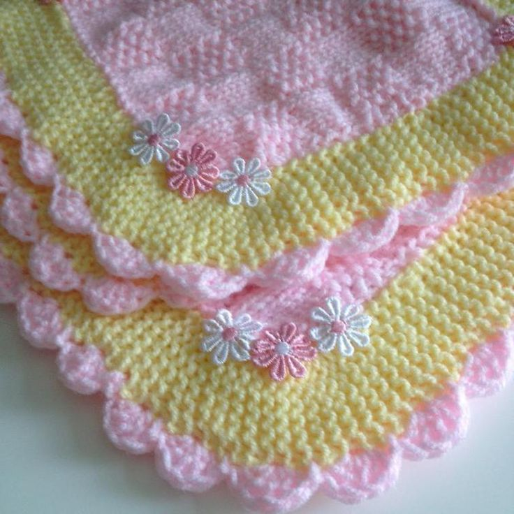29 best MY BABY BLANKET KNITTING PATTERNS images on Pinterest ...