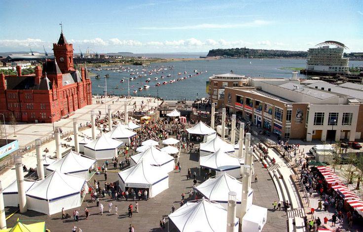 Roald Dahl Plass, Mermaid Quay - Cardiff