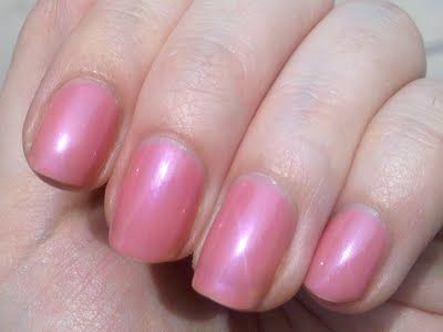 OPI Hawaiian Orchid- tropical pink with hints of sheer lavender