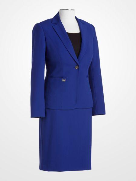 John Meyer Royal Blue Suit 49 99 Womens Skirt Jacket