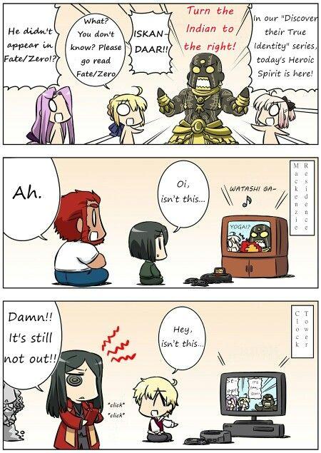 Fate/Gudaguda 19